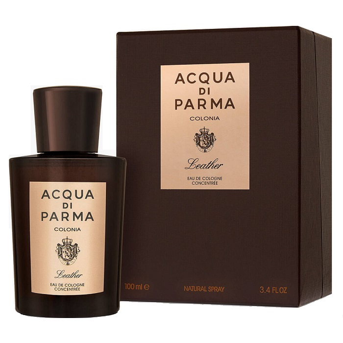 Acqua Di Parma Colonia Leather Cologne by Acqua Di Parma 3.4oz Eau De Cologne Spray for men